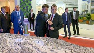 С главой ОАО «Газпром» Алексеем Миллером
