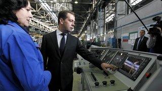 Посещение Новочеркасского электровозостроительного завода