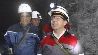 Посещение угольной шахты «Листвяжная»
