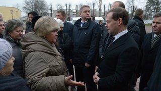 Общение с жителями города Гурьевска