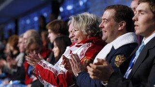 Церемония открытия зимних Олимпийских игр в Сочи
