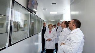 Посещение научно-производственного комплекса ЗАО «Биокад»