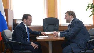 Беседа с врио губернатора – председателя правительства Кировской области Никитой Белых