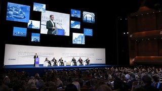 Выступление на пленарном заседании IV Петербургского международного юридического форума на тему «Идея верховенства права в юридических системах государств: итоги и будущее»
