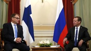Беседа с Премьер-министром Финляндии Юхой Сипилей