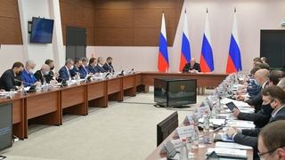 Совещание с членами Правительственной комиссии по вопросам социально-экономического развития Северо-Кавказского федерального округа