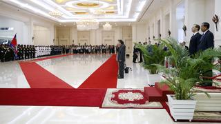 Церемония официальной встречи