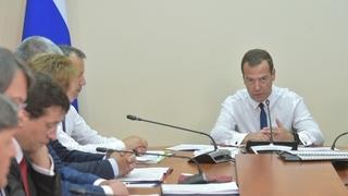 Вступительное слово Дмитрия Медведева на совещании о состоянии и перспективах развития организаций промышленности Республики Крым и города Севастополя
