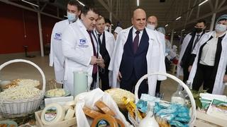 Посещение молочного завода «Тамбовский», осмотр продукции цеха производства сыров