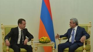 Встреча с Президентом Армении Сержем Саргсяном