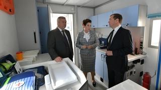 Осмотр мобильных медицинских комплексов, поставленных за счёт средств федерального бюджета в Ростовскую область в 2018 году