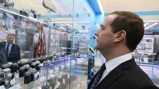 Посещение Красногорского завода имени С.А.Зверева. В музее истории предприятия
