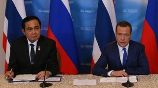 Заявления Дмитрия Медведева и Праюта Чан-оча для прессы