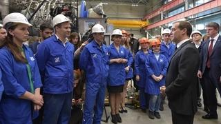 Посещение ЗАО «Невский завод». Беседа с работниками