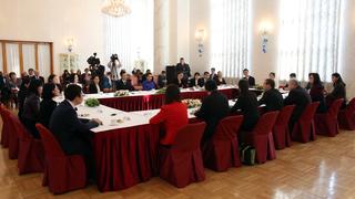 Встреча с представителями китайской молодёжи