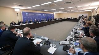 Встреча с представителями деловых кругов, принимающими участие в Российском инвестиционном форуме «Сочи-2017»