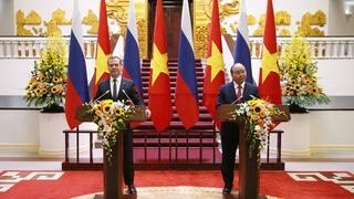 Заявления Дмитрия Медведева и Нгуен Суан Фука для прессы