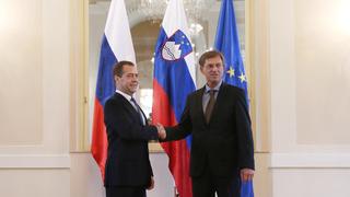 С Председателем Правительства Словении Мирославом Цераром