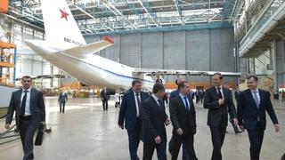 Посещение самолётостроительного предприятия «Авиастар-СП»