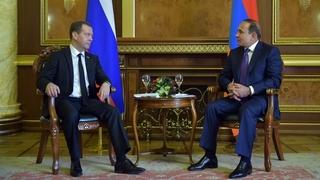 Встреча с Премьер-министром Армении Овиком Абраамяном