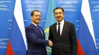 Встреча с Премьер-министром Казахстана Бакытжаном Сагинтаевым