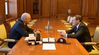 Встреча с Премьер-министром Азербайджана Артуром Раси-заде