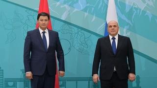 С Премьер-министром Киргизской Республики Улукбеком Мариповым
