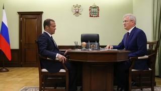 Встреча с губернатором Пензенской области Иваном Белозерцевым
