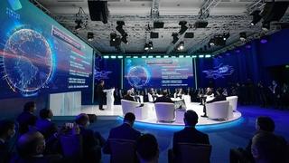Участие в работе международного форума «Цифровое будущее глобальной экономики»