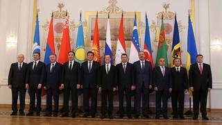 Совместное фотографирование глав делегаций государств-участников Содружества Независимых Государств