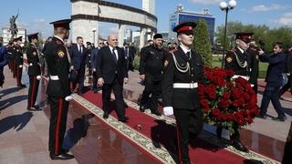 Посещение Мемориального комплекса славы имени Ахмата-Хаджи Кадырова