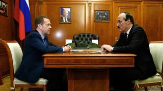 Встреча с главой Республики Дагестан Рамазаном Абдулатиповым