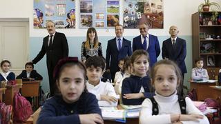 Посещение средней общеобразовательной школы №15 в Дербенте