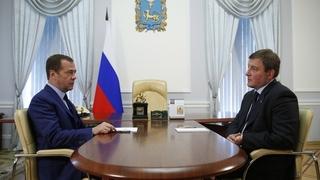 Встреча с губернатором Псковской области Андреем Турчаком