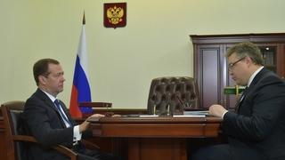 Встреча с губернатором Ставропольского края Владимиром Владимировым