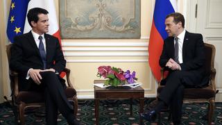 Беседа с Премьер-министром Франции Мануэлем Вальсом