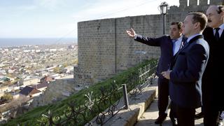 Посещение Дербентской крепости