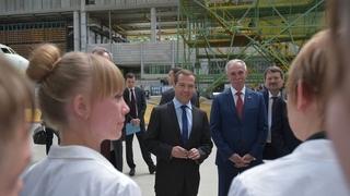 Посещение АО «Авиастар-СП». Беседа с работниками предприятия
