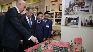 Посещение Российско-Вьетнамского Тропического научно-исследовательского и технологического центра