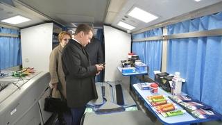 Посещение учебно-тренировочного центра «Новогорск»