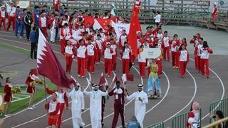Церемония открытия VI Международных спортивных игр «Дети Азии»