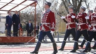 Официальный визит Дмитрия Медведева в Болгарию. Церемония встречи