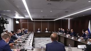 Встреча Михаила Мишустина с представителями российского и иностранного бизнеса
