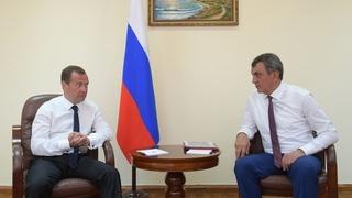 Встреча с губернатором Севастополя Сергеем Меняйло