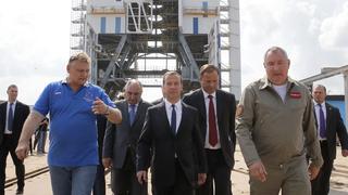 Посещение космодрома Восточный