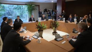 Встреча Дмитрия Медведева с руководителями российских и китайских IT-компаний