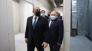 Михаил Мишустин посетил Курскую областную клиническую больницу. С  главным врачом  Михаилом Лукашовым