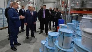 Посещение особой экономической зоны «Моглино», предприятия по изготовлению  лакокрасочной продукции ООО «Нор-Маали»