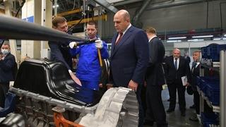 Михаил Мишустин посетил завод двигателей ПАО «КамАЗ»