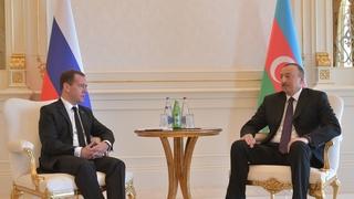 Встреча с Президентом Азербайджана Ильхамом Алиевым